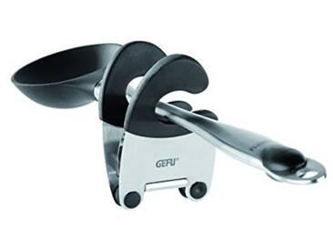GEFU GE12710 Porte-Cuillère Acier Inoxydable Inox 19,3 x 8,1 x 5,8 cm