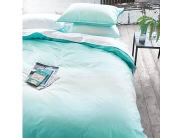 Designers Guild - Saraille Drap Housse Satin de Coton Aqua 160 x 200 cm