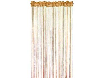 Home Fashion 85100-875 Rideau Fil Orange 245 x 150 cm