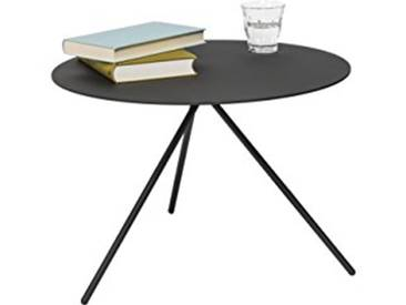 Lourens Fisher Mindy Table dappoint, en MÉTAL, Noir