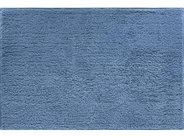 Grund Tapis de Bain 100% polyacrylique, Ultra Doux, antidérapant, certifié Öko-tex, Fantaisie, Coton, Manhattan - Jeansblau, 80x140 cm