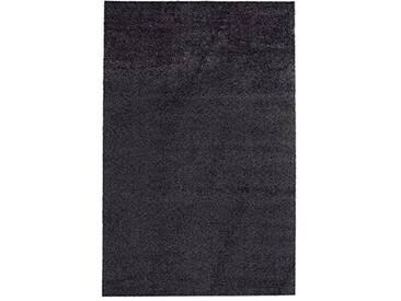 andiamo 700607 Paillasson Samson uni 50 x 80cm en Coton, Lavable à 30°C, Anthracite, 100 x 150 cm