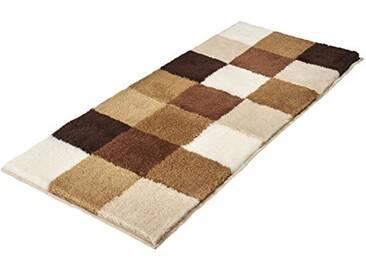 Kleine Wolke Textilgesellschaft 5426224534 Tapis de Bain, Polyacrylique, Caramel, 80 x 150 cm