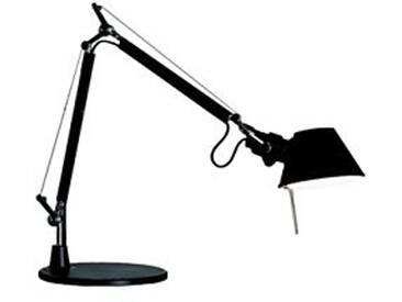 Artemide Tolomeo Micro Lampe de Table avec Base Noire