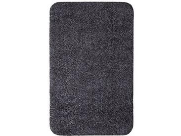 andiamo 700607 Paillasson Samson uni 50 x 80cm en coton, lavable à 30°C, Coton, anthracite, 50 x 80 cm