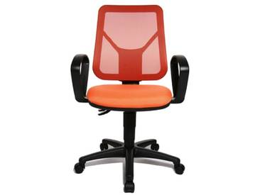 Topstar AN20BG044 Airgo Net Chaise de Bureau Orange 46 x 46 x 111 cm