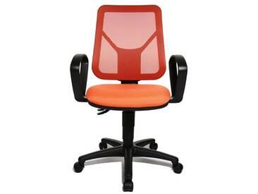 Topstar AN20BG044 Airgo Net Chaise de Bureau Orange 46 x 46 x 111 cm