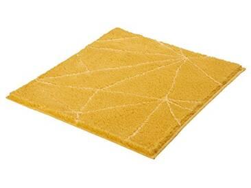 Kleine Wolke Textilgesellschaft 4087553539 Tapis de Bain, Polyacrylique, Jaune, 55 x 65 x 2 cm