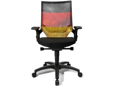 Topstar au400Agc1E Autosyncron-Urban Fashion Design Chaise avec dossier en maille