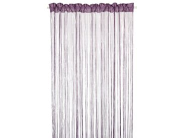 Home Fashion 85100-838 Rideau Fil Pourpre 245 x 150 cm