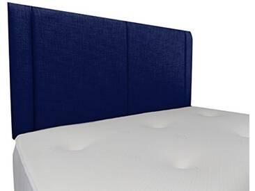 Interiors 2Combinaison U Robyn Parure de lit capitonnée, Tissu, Bleu Nuit, 7.5x 76x 62cm