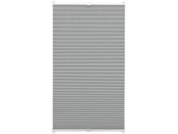 Gardinia Store Plissé à Clipser, Opaque, Kit de Montage Inclus, Store Plissé à 2 Rails EASYFIX, Ardoise, 80 x 130 cm (BxH)