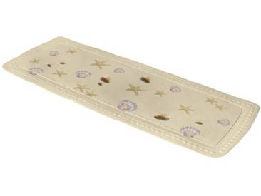 Kleine Wolke Tapis de Baignoire Seashell 36x92 cm en Sable, PVC, 40x30x10 cm
