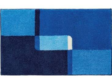 Grund Naxos Tapis de bain Bleu Petite taille 50x60cm