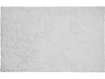 Grund Tapis de Bain Calo pour Le Sol en Fil Organique, Fil 100% Coton Bio, Ultra Doux, antidérapant, certifié ÖKO-TEX, Coton, Calo - Weiss, 70 x 120 cm