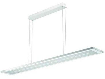Evotec ZEN 1080 Suspension à LED Blanc nickel / 2700-6500 K / 39 W / 4368 Lumens/Contrôle de la lumière par télécommande Aluminium 39 W Transparent Small