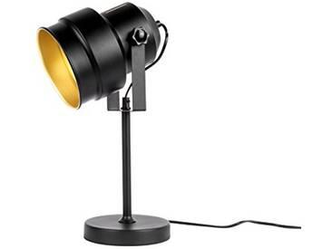 Leitmotiv LM1559 Lampe de Table, Fer, 25 W, Noir