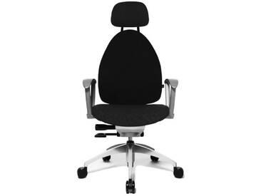 Topstar Open Art 20 Chaise de bureau pivotante Garnissage souple et confortable Noir (2)
