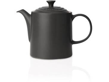 Le Creuset théière en céramique avec infuseur inox 1,3L noir