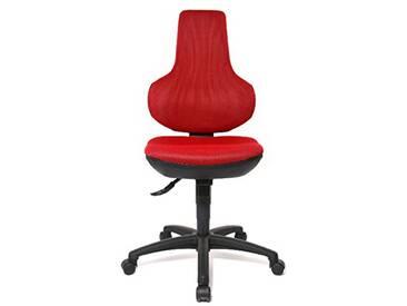 Topstar EPO20QBC1 Ergo Point SY Chaise de Bureau Rouge 45 x 45 x 115 cm