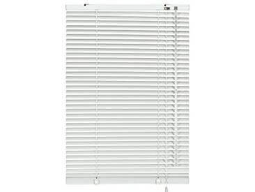 GARDINIA Store Vénitien en Aluminium, Fixation au Mur et au Plafond, Kit de Montage Inclus, Store Vénitien Aluminium, Blanc, 60 x 240 cm (LxH)