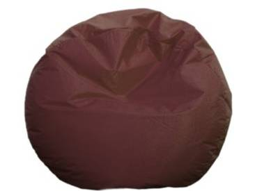 Just Relax 119,4 cm Grand Salon rond, Tissu, marron, Taille L