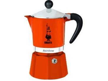 Bialetti 4992 Rainbow Machine à Expresso pour 3 Tasses Aluminium/Plastique Orange 30 x 20 x 15 cm