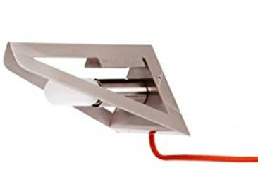 Leitmotiv LM808 Bookshade Applique Finition Satin 12 x 13 x 18 cm