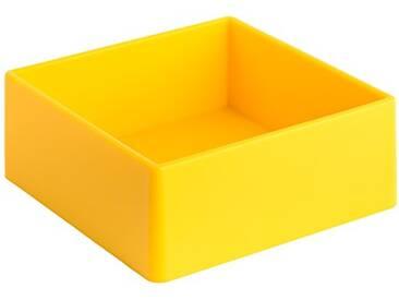 Geelli GFU-QUA-C30 Fusto Quadro Polyurethane, Yellow, 20x20x8 cm