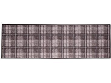 andiamo 282507 läufer Murray, 67 x 250 cm-Carreaux Marron/Beige