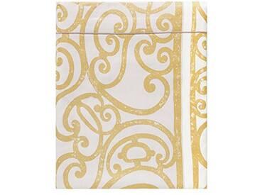 Designers Guild - Fretz Drap Plat Satin de Coton Noir 240 x 300 cm