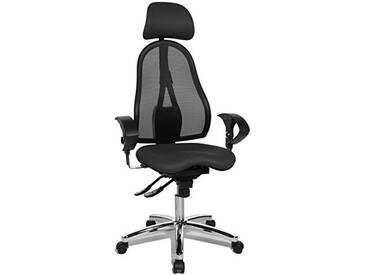 Topstar Chaise de Bureau Sitness 45avec accoudoirs réglables et Repose-tête