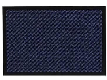 andiamo Schmutzfangmatte Fußabtreter Türmatte Easy Fußmatte, Polypropylène, Bleu, 90 x 150 cm