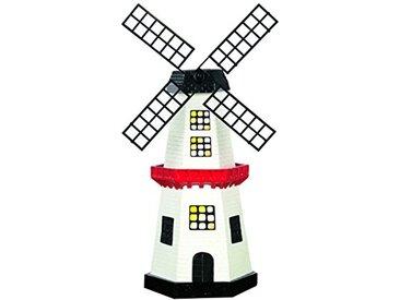 EASYmaxx 09387 solarzauber moulin à vent LED, Polypropylène, Multicolore, 10.00x10.00x28.00 cm