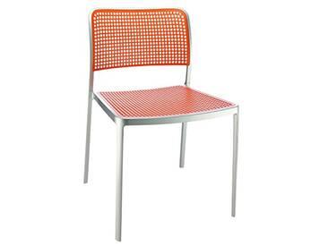 Kartell Audrey Chaise Lot de 2, Orange