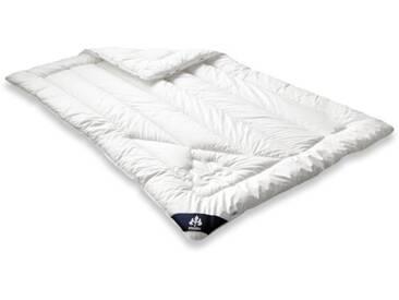 Badenia Bettcomfort 03632330148 Couette Irisette de luxe Mono 155 x 200 cm Blanc