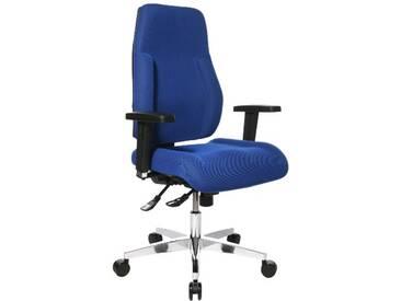 Topstar PI99GBC6 P91 Chaise de Bureau Bleu 48 x 48 x 111 cm