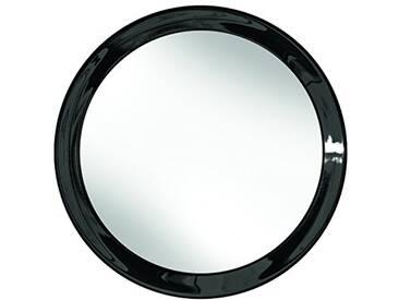Kleine Wolke 5820926886 Flexy Color Miroir de Maquillage Noir 17,5 x 17,5 cm
