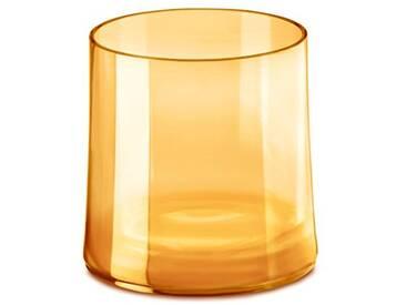koziol 3404651Cheers No. 2en verre de 250ml, Superglas, Transparent Ambre