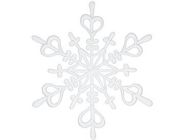 Koziol Décoration Flake, Plastique, Weiß, Large