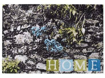 misento Andiamo 282485Paillasson 100% Polyamide, Blau, 50 x 70 cm