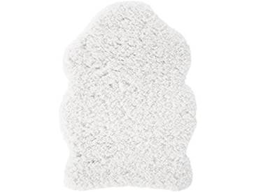 andiamo Holly 1100206 Peau de mouton, Polyester, blanc, 60x85cm