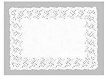 IBILI 701830 Napperons Rectangulaires, Verre, Blanc, 39 x 20 x 1 cm