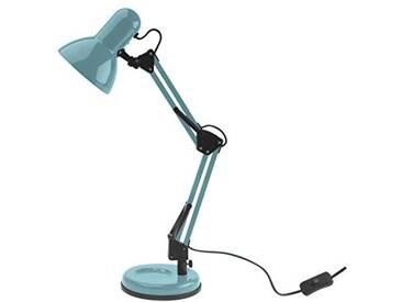 Leitmotiv LM1193 Lampe Lumière de Table Éclairage, Acier, Bleu