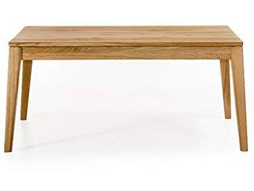 Alkove - Hayes - Table en bois massif avec rallonges papillons, Chêne sauvage