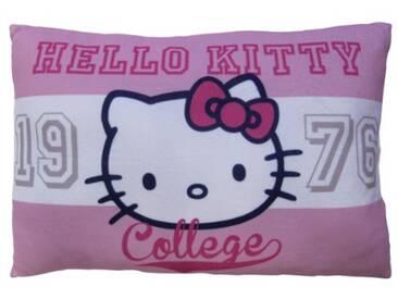 CTI 040883 Coussin Imprimé Hello Kitty Amaya 28 x 42 cm Rose et Blanc