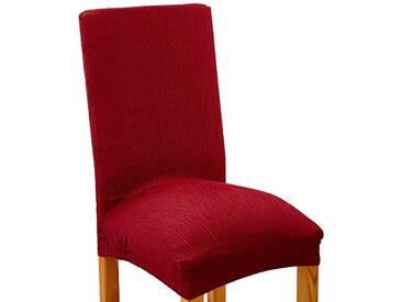 Zebra textile 204 housse de chaise élastique bêta-rouge