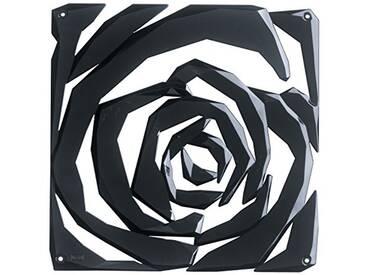 Koziol elément décoratif Romance, thermoplastique, Noir, 0,4 x 26,9 x 27 cm