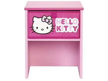 Worlds Apart 864786 Hello Kitty Table de Chevet MDF