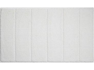 Grund Tapis de Bain Taranto pour Le Sol - 100% Polyester, Ultra Doux, antidérapant, certifié Öko-Tex, Levio - Natur, 70 x 120 cm